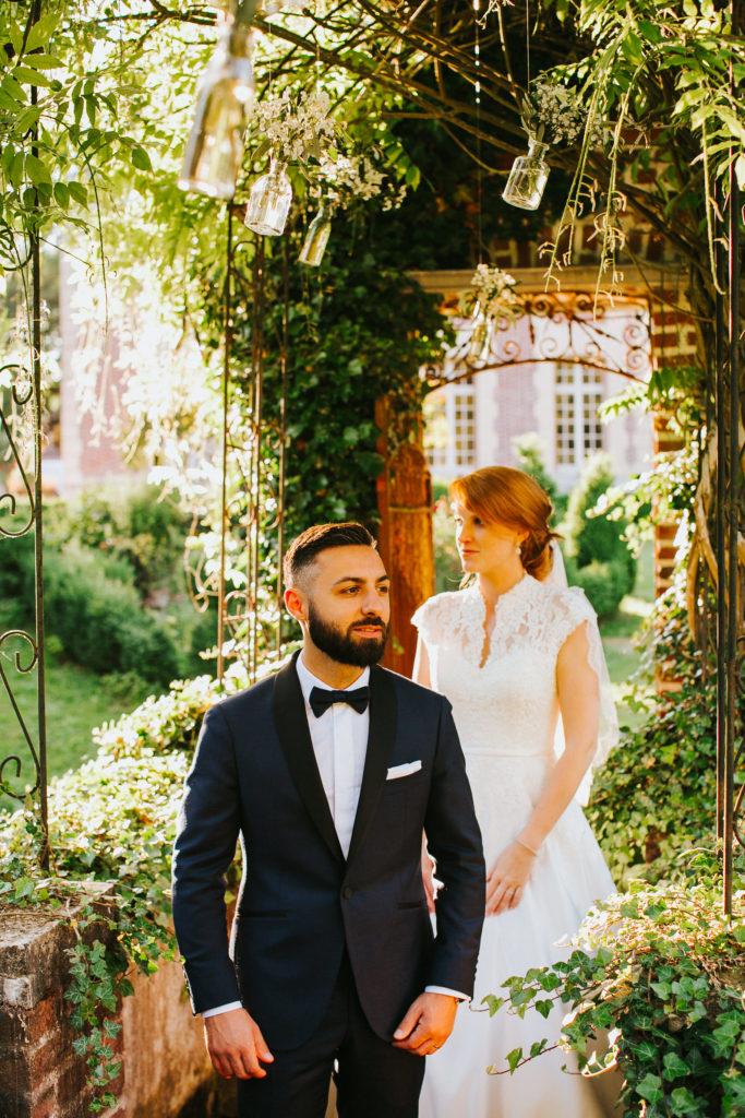 photographe mariage chateau de la louve blanche 74