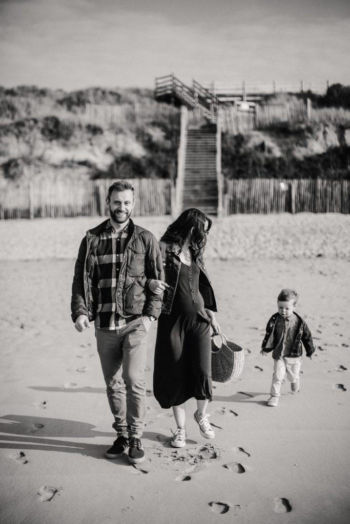 séance grossesse plage nord 12
