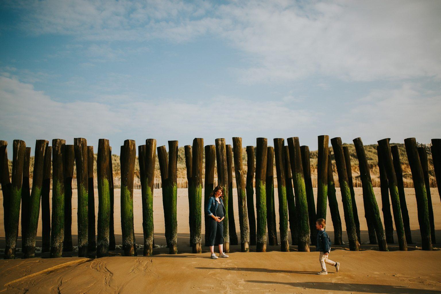séance grossesse plage nord 18