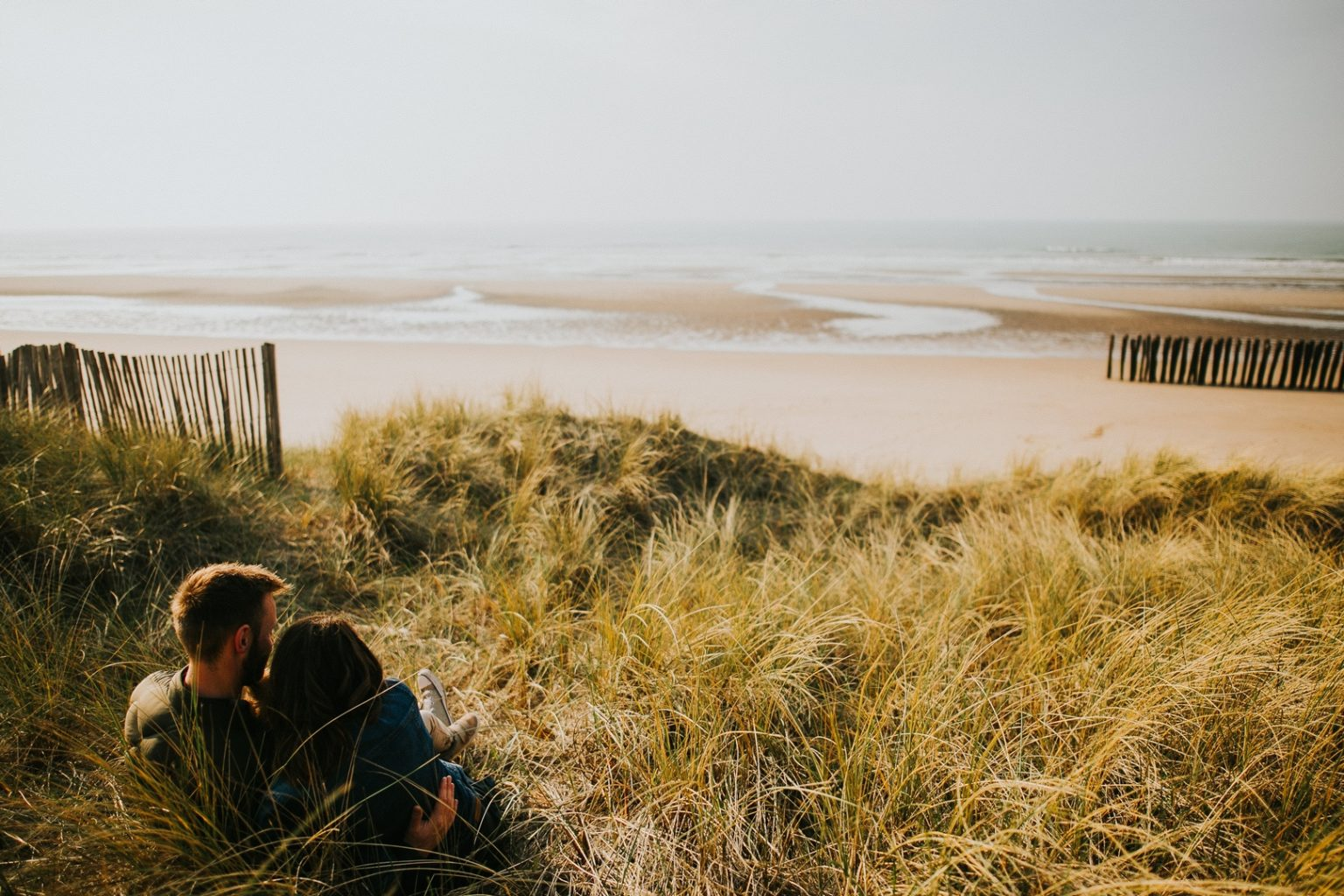séance grossesse plage nord 35